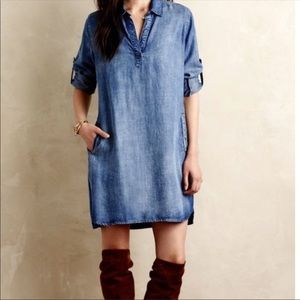 Anthropologie Cloth and Stone Jean Dress